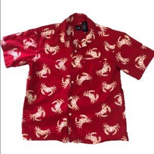 Gap Crab Dress Shirt